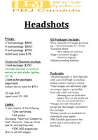Headshots Prices