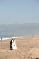 Beach wedding photography by PBJ Candids, Jennifer Emery