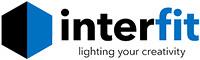 Interfit Color with Slogan copy