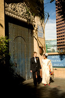 Figueroa Hotel Los Angeles wedding photos by PBJ Candids Jennifer Emery
