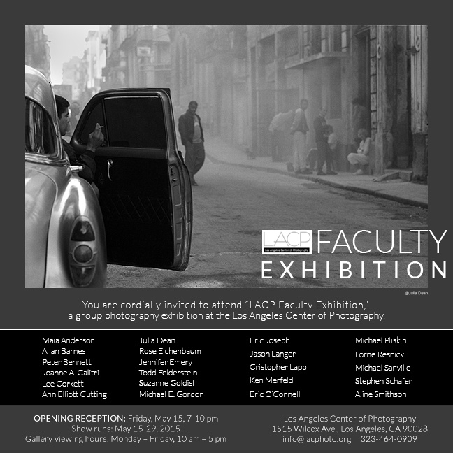 LACP Faculty Exhibit Invite