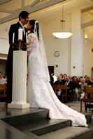 St. Dominic Savio Church wedding photos by Jennifer Emery of PBJ Candids
